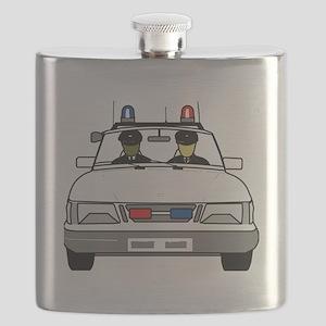 Police Car Flask