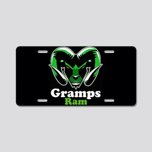 Gramps Ram Aluminum License Plate