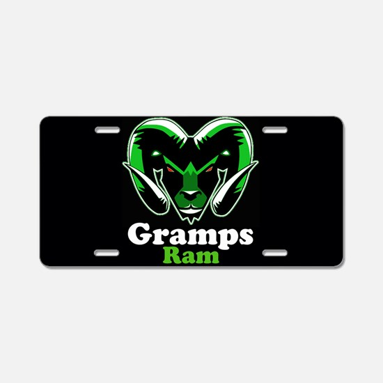 Gramps Ram Aluminum License Plate