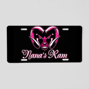 Nana's Ram Aluminum License Plate