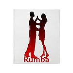 Rumba Dance Throw Blanket