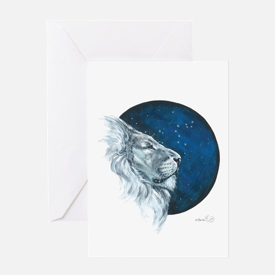 Leo II Greeting Cards