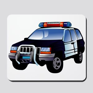 Police Car Mousepad