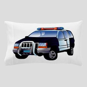 Police Car Pillow Case