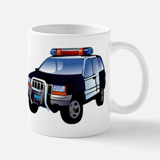 Police Car Mugs