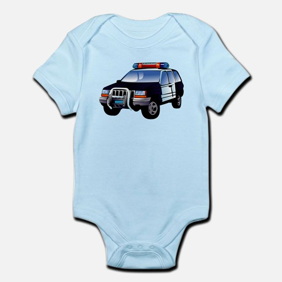 Police Car Body Suit