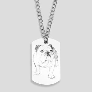 Bulldog Art Dog Tags