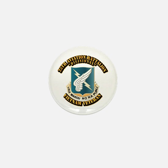 DUI - 25th Aviation Battalion Mini Button