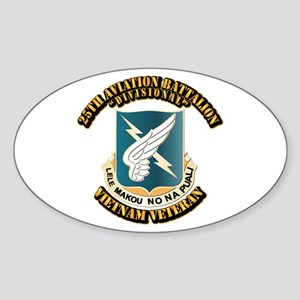 DUI - 25th Aviation Battalion Sticker (Oval)