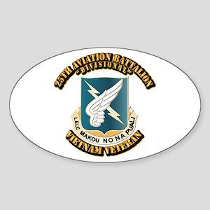 DUI - 25th Aviation Battalion Sticker (Oval)