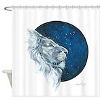 Leo II Shower Curtain