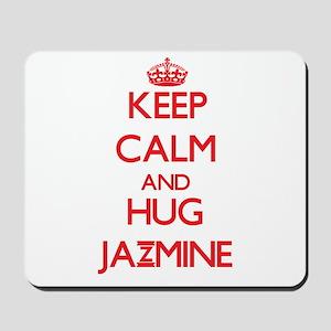 Keep Calm and Hug Jazmine Mousepad