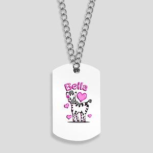 Bella Zebra Dog Tags