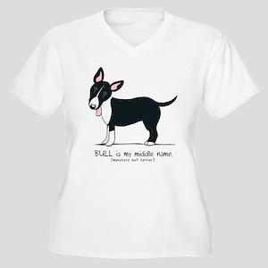 Bull Terrier Name Plus Size T-Shirt