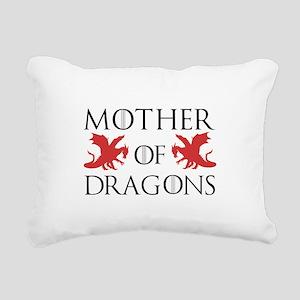 Mother Of Dragons Rectangular Canvas Pillow