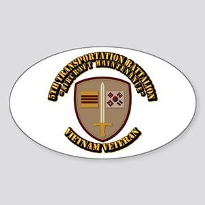 Army - 5th Transportation Battalion Sticker (Oval)