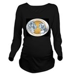Beauty And The Beast Long Sleeve Maternity T-Shirt