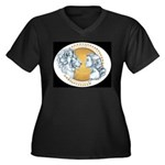 Beauty And The Beast Plus Size T-Shirt