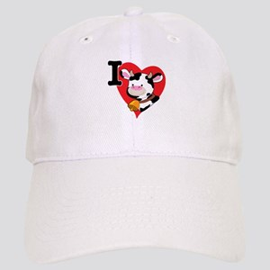 I Love Cows Cap
