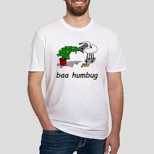 baa humbug Fitted T-Shirt