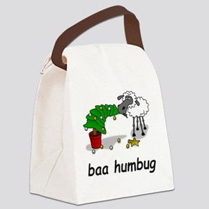 baa humbug Canvas Lunch Bag