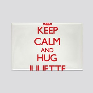 Keep Calm and Hug Juliette Magnets