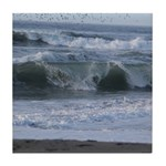 Breaking Waves Tile Coaster