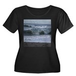 Breaking Waves Plus Size T-Shirt