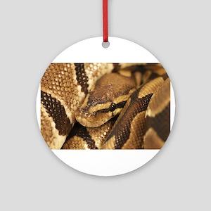 Ball Python Ornament (Round)