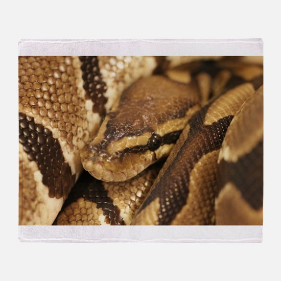 Ball Python Throw Blanket