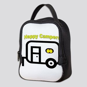 Happy Campers! Neoprene Lunch Bag