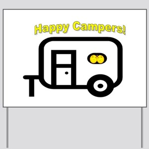 Happy Campers! Yard Sign