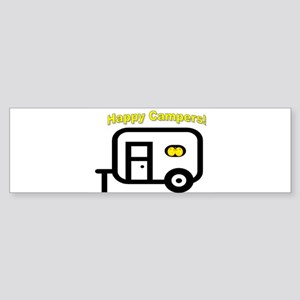 Happy Campers! Bumper Sticker