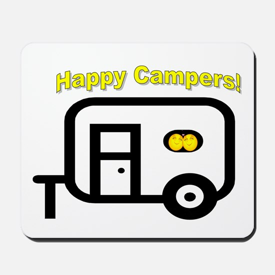 Happy Campers! Mousepad