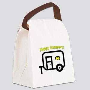 Happy Campers! Canvas Lunch Bag