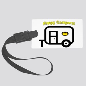 Happy Campers! Luggage Tag