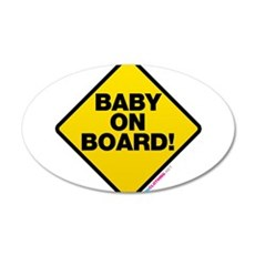 Baby On Board Wall Decal