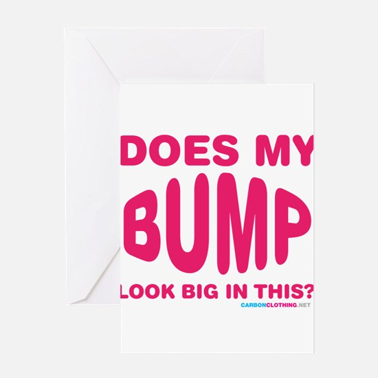 Unique Baby bump on belly Greeting Card