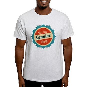 Retro Genuine Quality Since 1986 Light T-Shirt