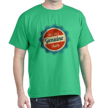 Retro Genuine Quality Since 1983 Dark T-Shirt
