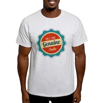 Retro Genuine Quality Since 1980 Light T-Shirt