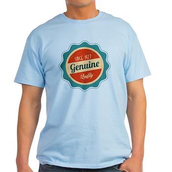 Retro Genuine Quality Since 1977 Light T-Shirt