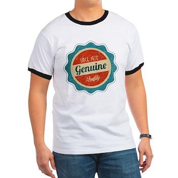 Retro Genuine Quality Since 1976 Ringer T