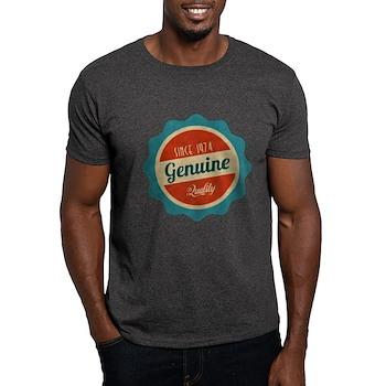 Retro Genuine Quality Since 1974 Dark T-Shirt