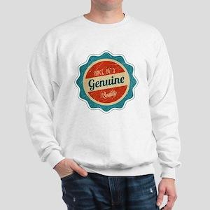 Retro Genuine Quality Since 1973 Sweatshirt