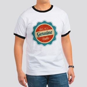 Retro Genuine Quality Since 1973 Ringer T