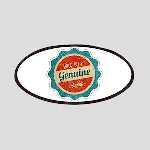 Retro Genuine Quality Since 1973 Patches