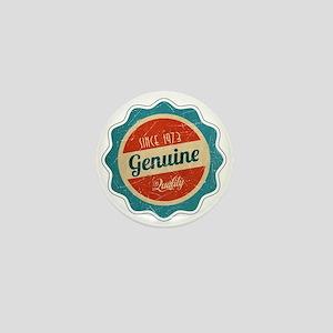Retro Genuine Quality Since 1973 Mini Button