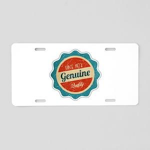 Retro Genuine Quality Since 1973 Aluminum License