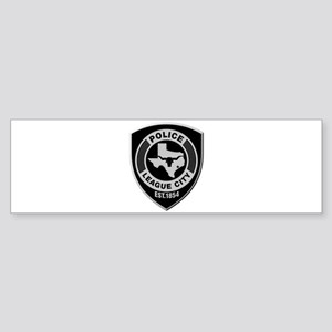 League City Police Bumper Sticker
